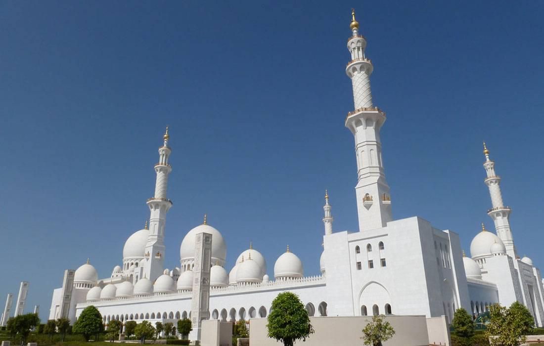Abu Dabi Moschee