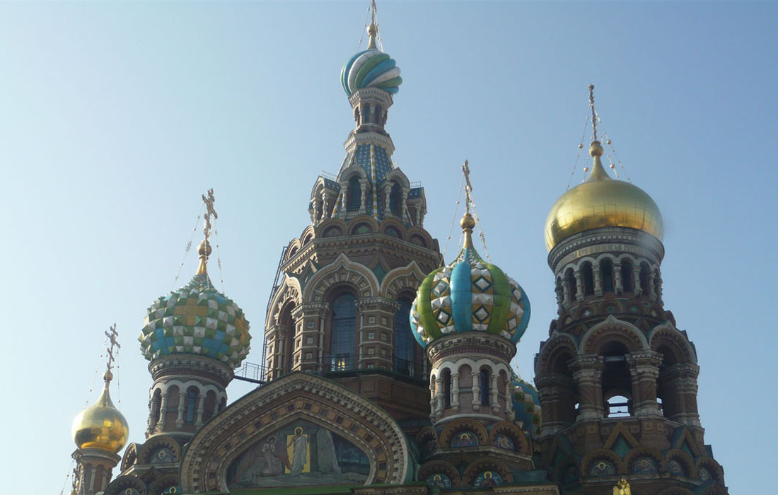 Petersburg Blutkirche