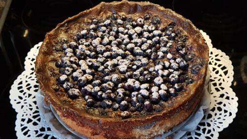 Heidelbeer Mohnkuchen