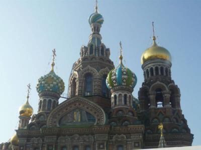 Russland Petersburg Blutkirche
